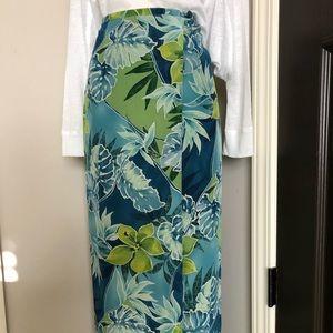 Nygard silk skirt size 14